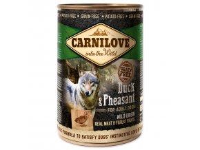 Konzerva CARNILOVE Dog Wild Meat Duck & Pheasant 400 g