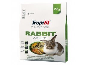 Tropifit 750g Rabbit Adult premium plus