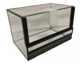 Terárium lepené 30 x 15 x 20 cm s výsuvnými dvířky, 9 litrů