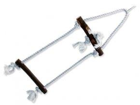 Žebřík BIRD JEWEL provazový + dřevěné příčky 50 cm 1ks