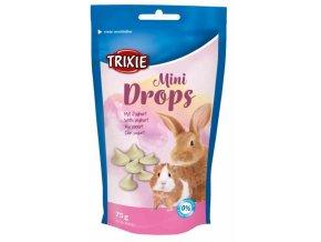 MINI dropsy jogurtové pro morčata, králíky 75 g