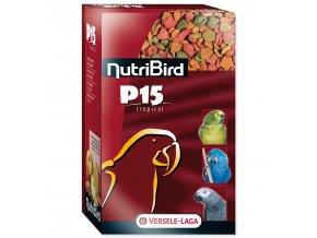 VERSELE-LAGA Nutri Bird P15 Tropical pro velké papoušky 1 kg