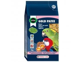 VERSELE-LAGA vaječné krmivo Gold Patee pro střední a velké papoušky 1 kg