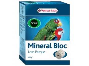 Minerální blok VERSELE-LAGA Loro Parque  lisovaný grit s korály velké papoušky 400 g