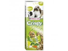 Tyčinky VERSELE-LAGA Crispy se zeleninou pro králíky a morčata 110 g