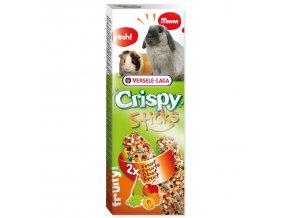 Tyčinky VERSELE-LAGA Crispy s ovocem pro králíky a morčata 110 g
