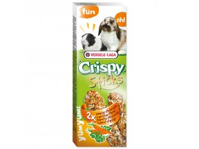Tyčinky VERSELE-LAGA Crispy s mrkví a petrželkou pro králíky a morčata 110 g