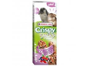 Tyčinky VERSELE-LAGA Crispy s lesním ovocem pro králíky a činčily 110 g