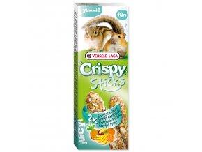 Tyčinky VERSELE-LAGA Crispy s exotickým ovocem pro křečky a veverky 110 g