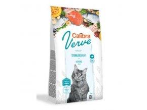 Calibra Cat Verve GF Sterilised Herring 750g