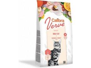 Calibra Cat Verve GF Adult Chicken&Turkey 750 g