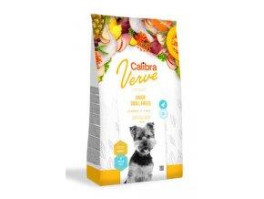 Calibra Dog Verve GF Junior Small Chicken&Duck 1,2 kg