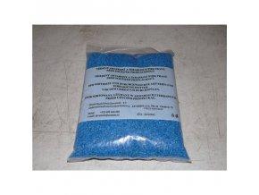 Akvarijní štěrk barevný modrý 3-4mm (2 litry – cca 2,5 kg)