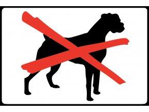 zákaz psů