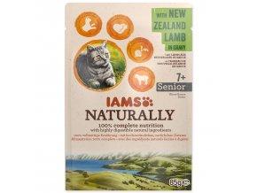 Kapsička IAMS Cat Naturally Senior with New Zealand Lamb in Gravy