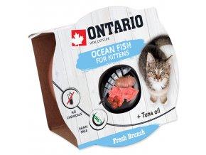 Kalíšek ONTARIO Fresh Brunch Kitten Ocean Fish