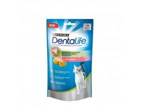 Dentalife Cat s lososem, 40g