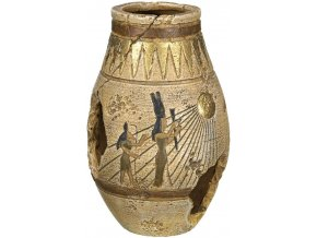 Akvarijní dekorace egyptská váza 8 x 8 x 12,5 cm