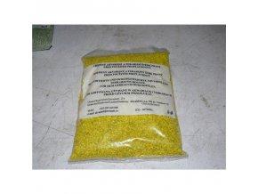 Akvarijní štěrk barevný žlutý 3-4mm (2 litry – cca 2,5 kg)