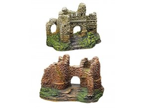 Dekorace zřícenina hradu malá