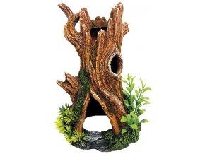 Dekorace kmen stromu 14,8 x 14 x 22,3 cm