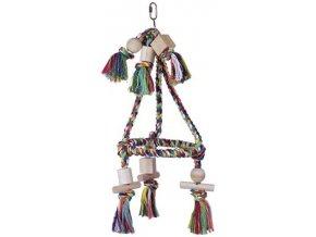 Nobby hračka pro malé papoušky pyramida 45x19cm