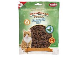Nobby StarSnack Cat Croquette Duck funkční pamlsky 125g