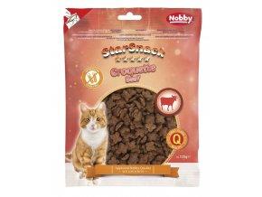 Nobby StarSnack Cat Croquette Beef funkční pamlsky 125g