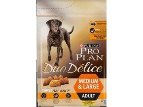 Pro Plan Dog Duo Delice OptiBalance Medium & Large Adult Chicken 2.5kg 43788976 360x360px Front 7
