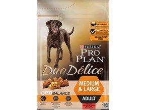 Pro Plan Dog Duo Delice OptiBalance Medium & Large Adult Beef 2.5kg 43789073 360x360px Front 4