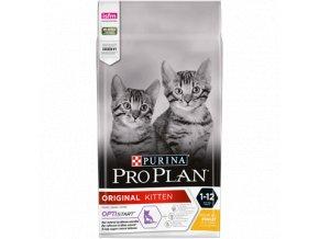 PURINA¬ PRO PLAN¬ ORIGINAL Kitten 1 12 months with OPTISTART¬ Rich in chicken Front 4