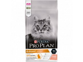 PURINA¬ PRO PLAN¬ ELEGANT Adult 1+ Years with OPTIDERMA¬ Rich in salmon Front 4