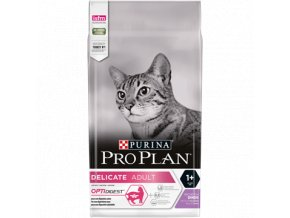 PURINA¬ PRO PLAN¬ DELICATE Adult 1+ Years with OPTIDIGEST¬ Rich in Turkey Front 4