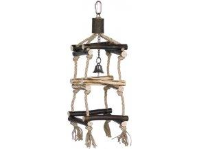 Nobby sisalová věž pro papoušky S 35 x 12,5 cm