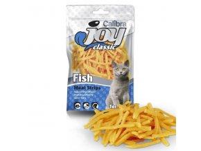 Calibra Joy Cat Classic Fish Strips 70g
