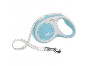 Vodítko FLEXI New Comfort páska světle modré S - 5 m