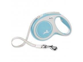 Vodítko FLEXI New Comfort páska světle modré M - 5 m