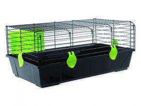 Klec SMALL ANIMALS Matěj černá se zelenou výbavou 1ks