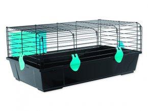 Klec SMALL ANIMALS Matěj černá s modrou výbavou 1ks
