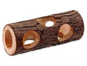 Úkryt SMALL ANIMALS kmen stromu dřevěný 5 x 15 cm 1ks