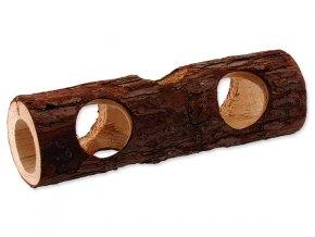 Úkryt SMALL ANIMALS kmen stromu dřevěný 7 x 20 cm 1ks