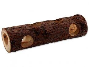 Úkryt SMALL ANIMALS kmen stromu dřevěný 7 x 30 cm 1ks
