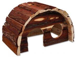 Domek SMALL ANIMALS Hobit dřevěný 25 x 16 x 15 cm 1ks