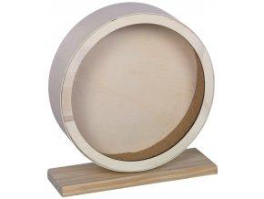 Dřevěný tichý kolotoč CORK pro hlodavce 20 cm