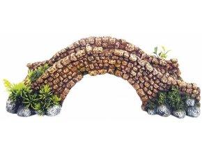 Akvarijní dekorace kamenný most 34,5 x 16,2 x 11 cm