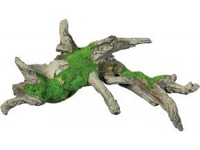 Akvarijní dekorace kořen s mechem 27,8 x 13,7 x 13 cm