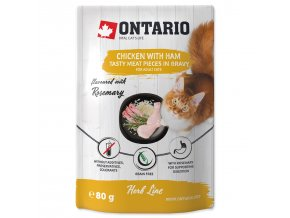 Ontario Herb - Chicken with Ham,Rice and Rosemary 80g
