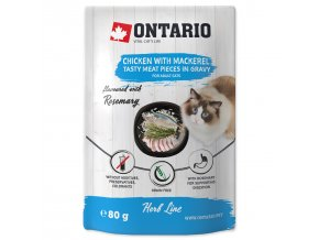 Ontario Herb - Chicken with Mackerel, Rice and Rosemary 80g