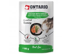 Ontario Herb - Chicken with Shrimps, Rice and Rosemary 80g