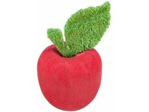 Jablko, hračka pro hlodavce, ø 5.5 × 9 cm